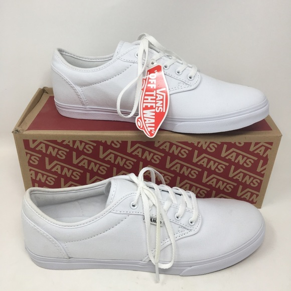 5adc775ef5 Women s White Vans Atwood Low Top Sneaker